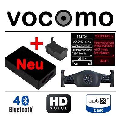 Freisprecheinrichtung kX-2 V1+ VW Skoda Seat Bluetooth A2DP Audio aptX HD Voice Kx Audio