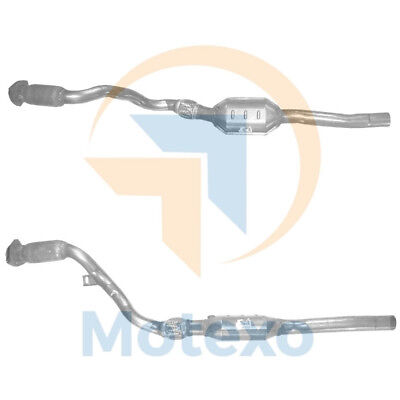 BM91258 Exhaust Petrol Catalytic Converter +Fitting Kit +2yr Warranty