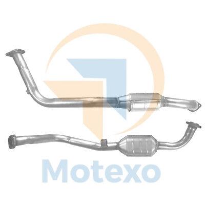 BM90162 Exhaust Petrol Catalytic Converter +Fitting Kit +2yr Warranty