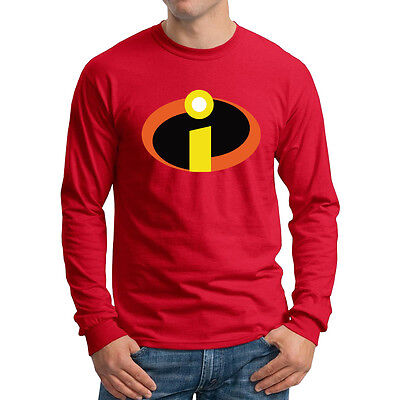 The Incredibles Long Sleeve T-shirt Disney Family party Costume Shirts all sizes - Disney Family Costumes