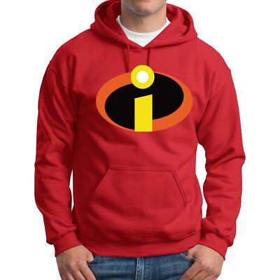 The Incredibles logo Hoodie Family cosplay Hero Halloween Costume Sweatshirts (Family Incredibles Costume)