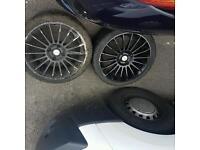 Tsw 17 inch racing alloys