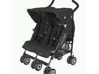 Maclaren twin techno double buggy / pushchair