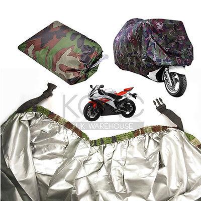 XXL Motorcycle Waterproof Outdoor Motorbike Rain Vented Bike Covers Extra Large