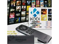 Amazon Fire Stick Fully Loaded with Sports, Movies, TV Shows and 2000+ Channels