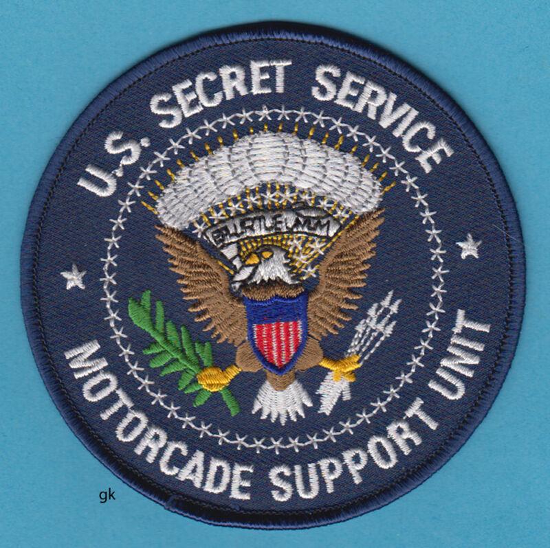 US SECRET SERVICE MOTORCADE SUPPORT UNIT  SHOULDER PATCH