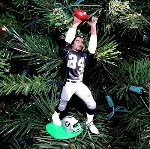 charles WOODSON oakland RAIDERS football NFL tree XMAS ornament HOLIDAY jersey