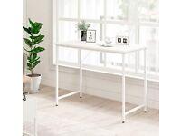 Brand new white desk
