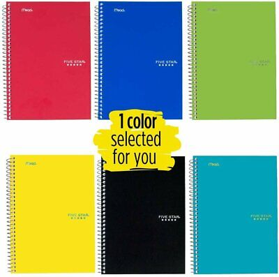 Five Star Spiral Notebook 2 Subject College Ruled Paper 100 Sheets