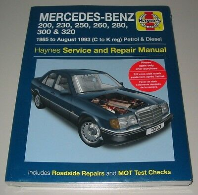 Repair Manual Mercedes W 124 200 230 250 260 280 300 320 1985-1993 Benzin Diesel gebraucht kaufen  Wilhelmshaven