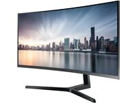 Samsung LC34H890WJUXEN 34 inch Curved Ultra WQHD VA LED Monitor