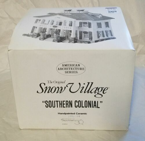 Department 56 1991 American Architecture Series Southern Colonial  #5403-8