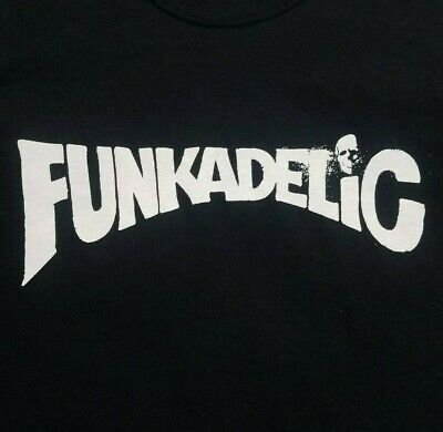 Funkadelic band ***MEDIUM*** screen printed t-shirt Black retro Classic Screen Print Jersey
