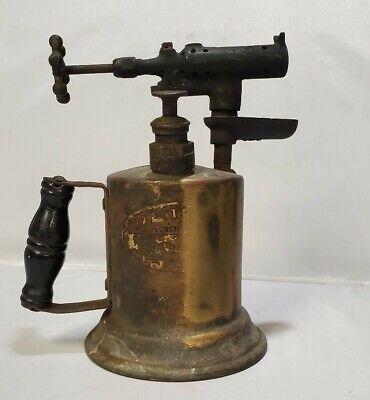 Vintage Antique Blow Torch Detroit Torch