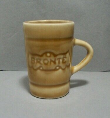 Souvenir Shotglass from Bronte in Oakville, ON, Canada Made with Regal (Bronte Canada)