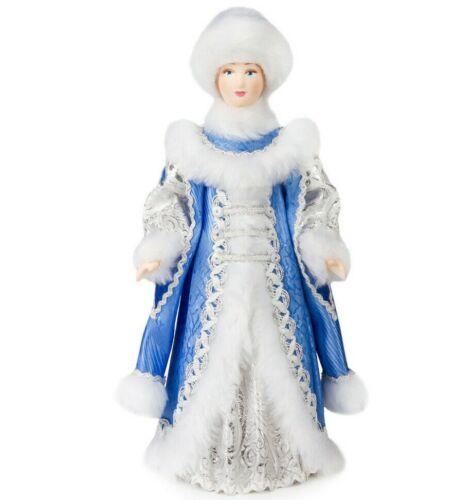 "12"" Snow Maiden Collectible Doll. Snow Queen / Snegurochka Figurine. Ded Moroz"