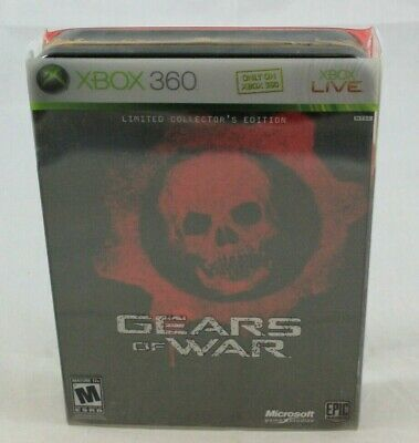 Gears of War Limited Collector's Edition Xbox 360 Complete in Box  for sale  Toronto