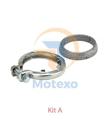 FK80344A Exhaust Diesel Catalytic Converter (1st cat; spring clip fitting kit )