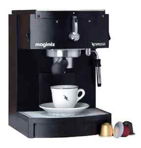 Nespresso Magimix M150 Coffee Maker, 28 boxes of Coffee, Frother Edgecliff Eastern Suburbs Preview