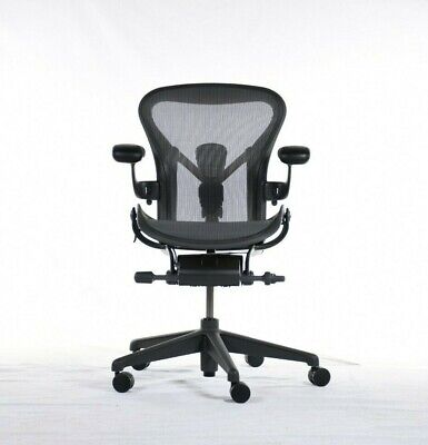 Authentic Herman Miller Aeron Chair Size A Small Design Within Reach