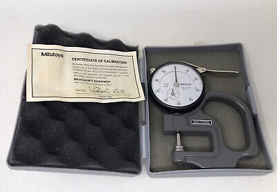 Mitutoyo 2412f 7300 Dial Drop Indicator For Dial Thickness Gage.001 Free Ship