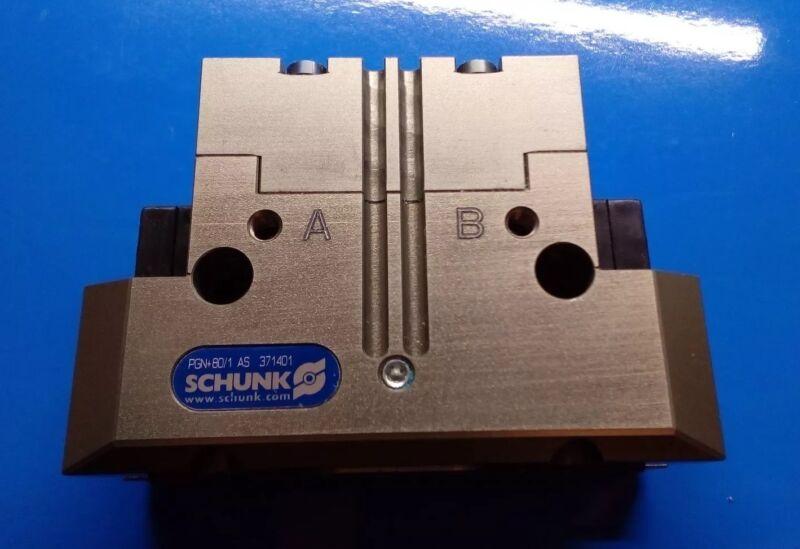 Schunk, Pneumatic Parallel Gripper, PGN+80-1-AS ,  P# 371401