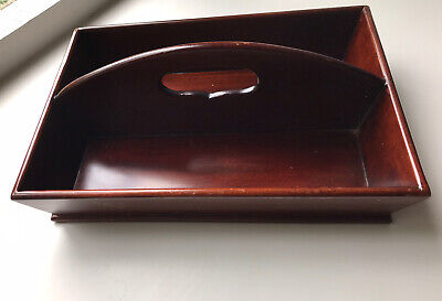 Antique Rosewood Cutlery Tray