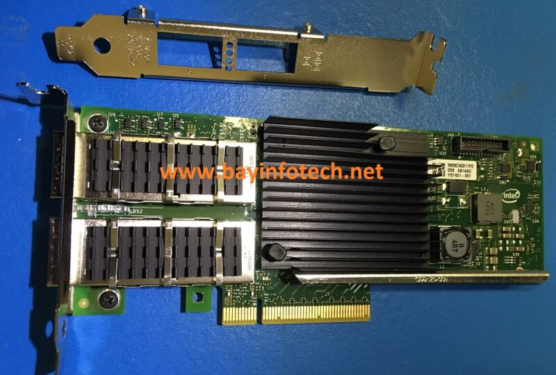XL710-QDA2 Intel Ethernet CNAdapter XL710QDA2 PCIexpress Dual Ports QSFP+