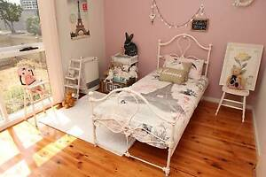 Natalie Cast Iron bed excellent Cond Keruse and Gairdner RRP$700 Chadstone Monash Area Preview