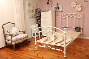 King Single Cast Iron Bed New Sample Bed Katrina Keruse&Gairdner Chadstone Monash Area Preview