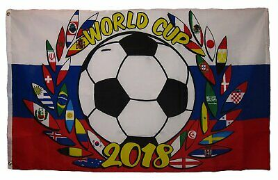 AES 3x5 International World Cup 2018 Russia Soccer Reef Cres