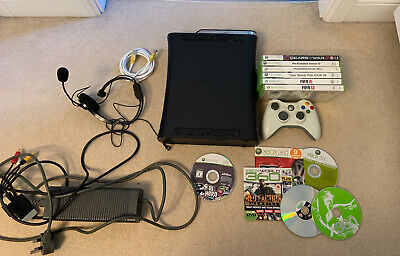 120GB Xbox 360 Console With Controller And games
