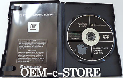 GM NAVIGATION MAP DVD 25850927