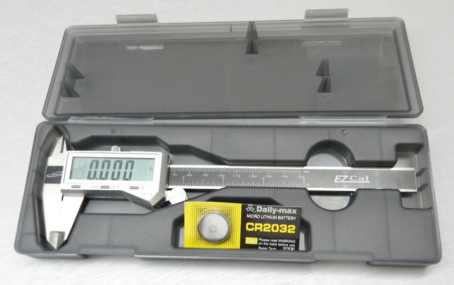 Купить iGAGING DIGITAL - 6 Digital Electronic Caliper Fractional 3 Way LCD Stainless EZ Cal By iGaging