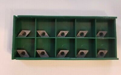 Dcmt 21.51 Mp4 F2 C5 Uncoated Carbide Inserts Dcmt 070204 10pcs Dcmt 21.51 New