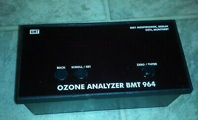 Ozone Analyzer Bmt 964 Srd Sensor For Use With Remote Display Bmt 964 Rd