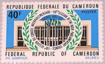 CAMEROUN KAMERUN 1972 691 541 110th Session Inter Parlamentary Council MNH