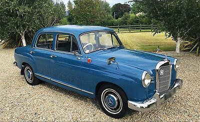 MERCEDES 190B PONTON - LOVELY CLASSIC THROUGHOUT - POSS PX MOTORBIKE OR CAR