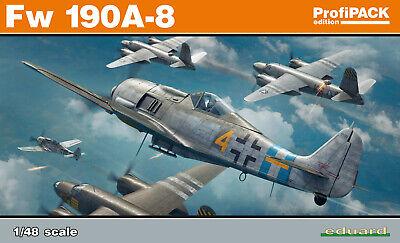 Fw 190A-8 1/48 Eduard Modellbausatz 82147 Profi Pack