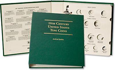 Littleton Coin Album LCA78 Nineteenth Century U.S. Type