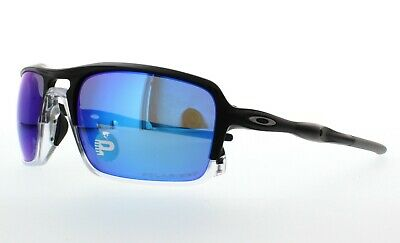 Oakley Triggerman POLARIZED Sunglasses OO9266-04 Matte Black W/ Sapphire (Oakley Triggerman)