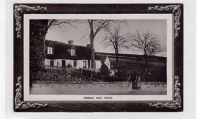 FINZEAN POST OFFICE: Aberdeenshire postcard (C25998)