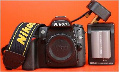 Nikon D80 DSLR Camera - Sold with Nikon EN-EL3e Battery & Nikon MH-18a Charger