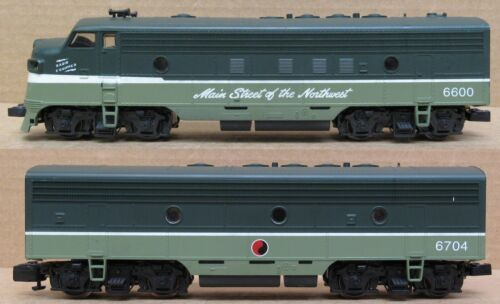 American Models Northern Pacific F7 A/B w/Sound S-Gauge