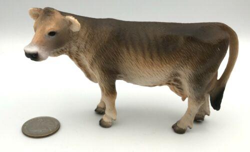 Schleich SWISS COW Adult Brown 2001 Dairy Farm Figure