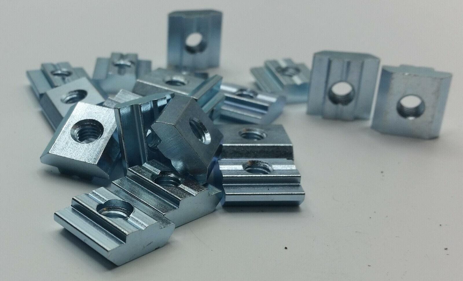 Nutenstein schwer Nut 8 M6 für Typ B, Gleitstein für Aluprofil Bosch kompatibel