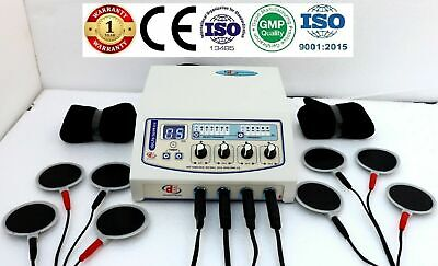 Electrotherapy 04-ch Unit Original Physiotherapy Stressfree 4 Channel Machine