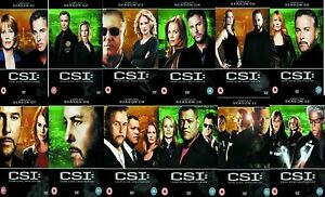 CSI Las Vegas Complete TV Series DVD Collection 77 Discs Season 1 to 13 NEW