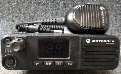 Motorola Xpr5350 Vhf Digital Dmr Mototrbo Mobile Radio 136-174 W Mic Buy 1 To 5