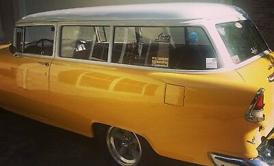 1955 Chevrolet Bel Air/150/210  1955 Chevrolet '55 Chevy Handyman Wagon